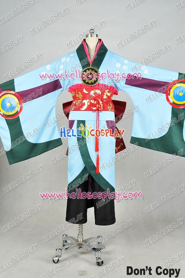 Mononoke Cosplay The Medicine Seller Costume Kimono