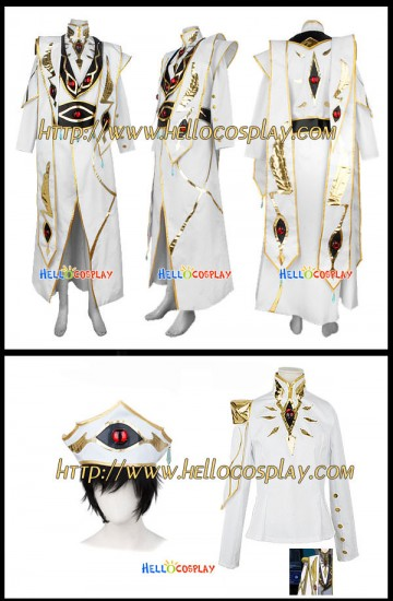 Code Geass Lelouch Cosplay Imperial Costume