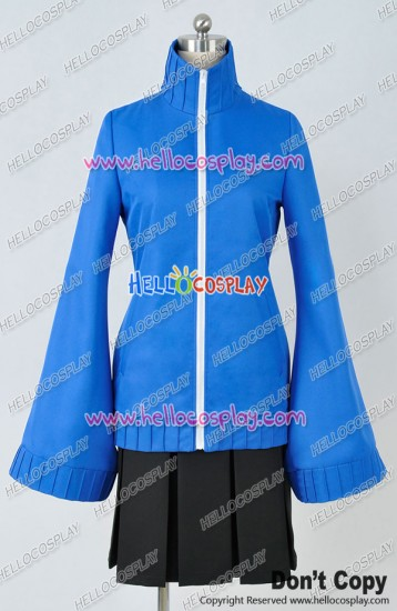 Kagerou Project Cosplay Ene Takane Enomoto Blue Uniform Costume