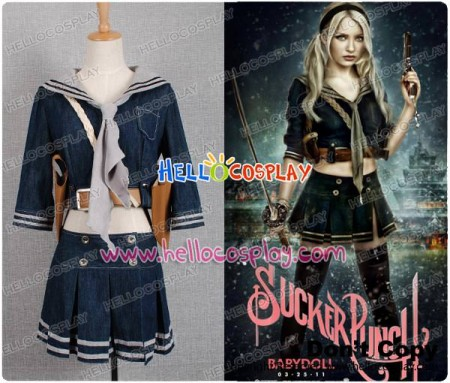 Sucker Punch Costumes Emily Browning's Babydoll Costume