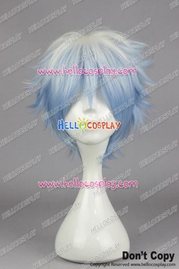 Gin Tama Gintoki Sakata Cosplay Wig Blue