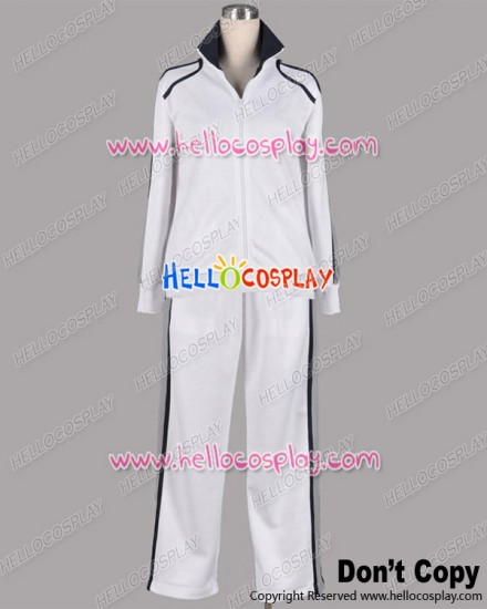 Starry Sky Cosplay Tsukiko Yahisa Yoh Tomoe White Sport Uniform Costume