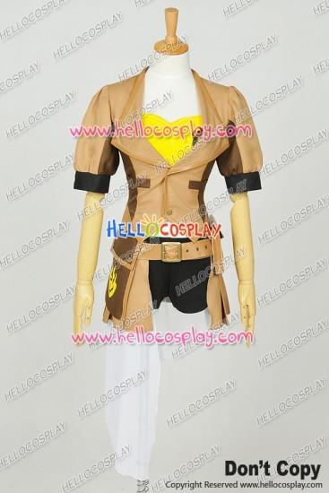RWBY Cosplay Yellow Trailer Yang Xiao Long Uniform Costume Full Set