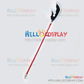 Shaman King Cosplay Tao Len Knife Broadsword Prop Weapon