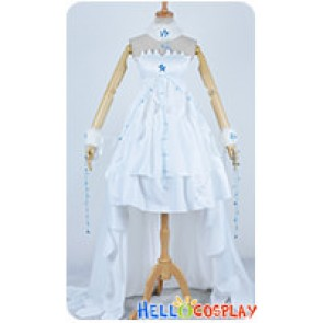Chobits Cosplay Clamp Chii Elda White Formal Dress Costume