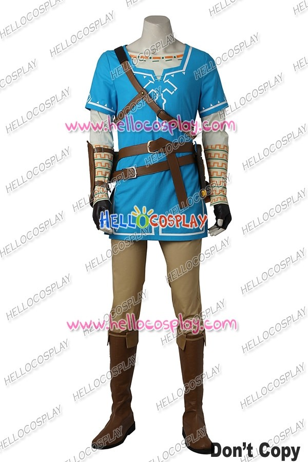 32a1b0db1 The Legend of Zelda Breath of the Wild Link Cosplay Costume