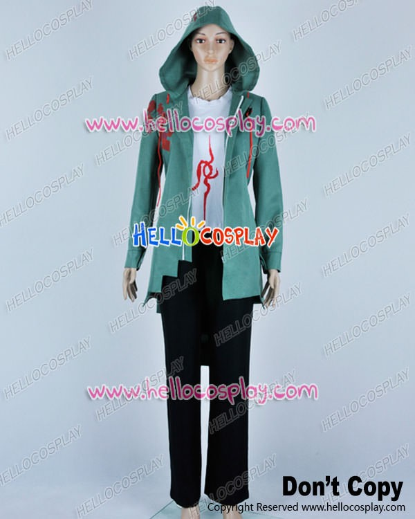 NEW Danganronpa Komaeda Nagito Cosplay Overcoat Coat Z.111