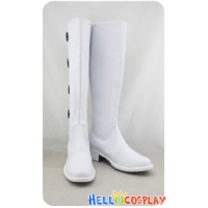 Axis Powers Hetalia Cosplay Shoes Hungary White Boots Male Version