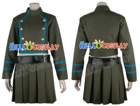 Katekyo Hitman Reborn Chrome Dokuro Cosplay Costume