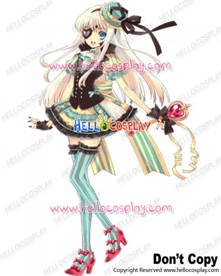 Shokotan Cover 3 Cosplay Shoko Nakagawa Dress Costume