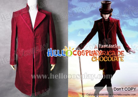 Charlie and the Chocolate Factory Johnny Depp Willy Wonka coat