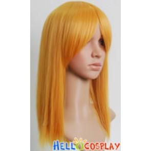 Cosplay Light Orange Short Wig