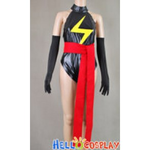 Captain Marvel Ms.Marvel Jumpsuit Cosplay Costume