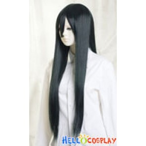 Darkest Cyan Medium Cosplay Straight Wig