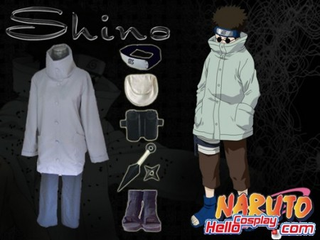 Naruto Cosplay Aburame Shino Cosplay Costume