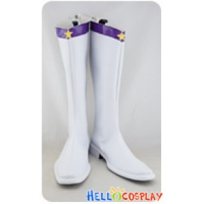 Sailor Moon Cosplay Shoes Sailor Saturn Hotaru Tomoe White Boots