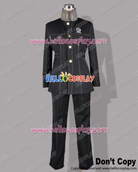 Shin Megami Tensei Persona 4 P4 Cosplay School Boy Uniform Costume