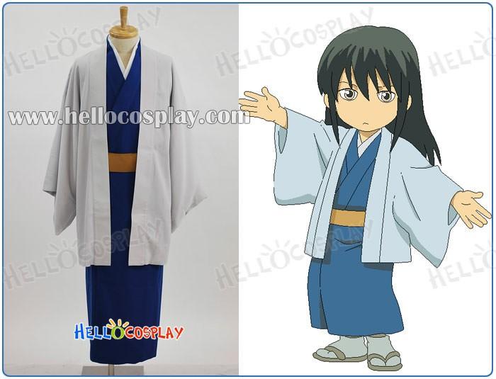 Anime Gintama Silver Soul Katsura Kotarou Kimono Cosplay Costume Kotaro Katsura