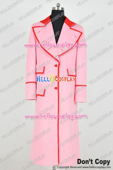 Doctor 4th Fourth Dr Companion Lalla Ward Cosplay Costume Trench Coat
