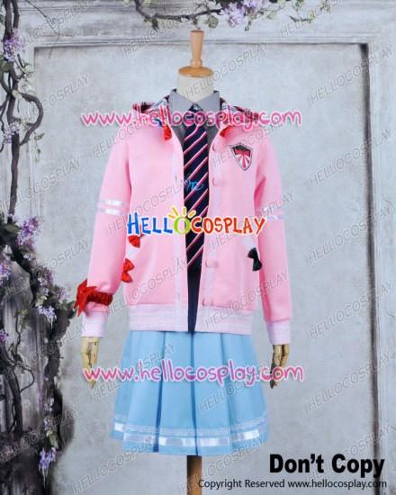 Vocaloid 2 Project DIVA F Cosplay Miku Costume School Uniform