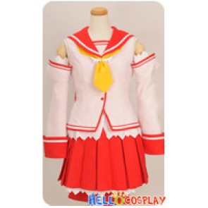 A.G.II.D.C Cosplay Brave Academy School Girl Uniform Costume