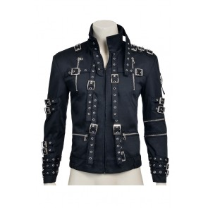 Beat It Michael Jackson Cosplay Costume Jacket Coat Cotton Version