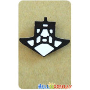 Danganronpa Cosplay Gundam Tanaka Accessories Brooch