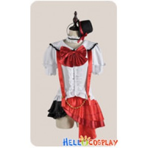 Love Live School Idol Project Field Of View Cosplay Maki Nishikino Costume