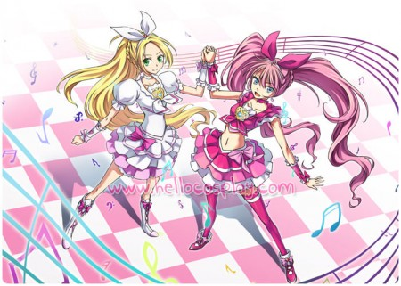 Suite PreCure Cosplay Cure Melody Costume Dress