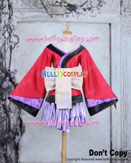 Vocaloid 2 Project Diva F Cosplay Luka Megurine Costume Dress