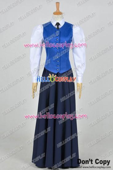 Doctor Series 7 The Crimson Horror Jenny Flint Maid Dress Cosplay Costume