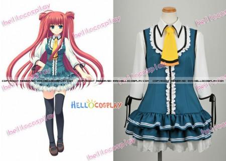 Sekajyo~the World Is Mine Cosplay Yumeko Yamino Costume