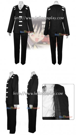 Soul Eater Cosplay Kid Costume