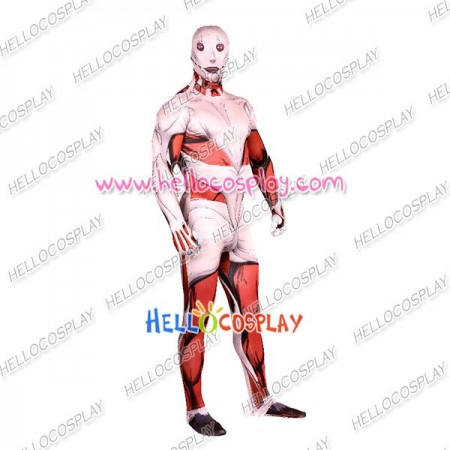 Attack On Titan Cosplay Kinnikuman Leotard Costume Jumpsuit Female Ver