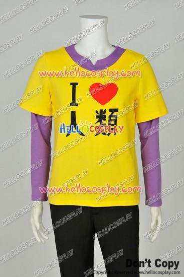 No Game No Life NGNL Noge Nora Cosplay Brother Sora Human T Shirt Costume