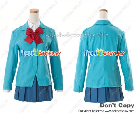 Durarara Cosplay Anri Sonohara Costume Raira Academy School Uniform