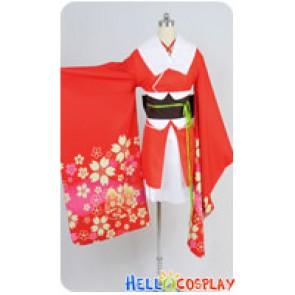 Unbreakable Machine Doll Cosplay Yaya Sakura Kimono Costume