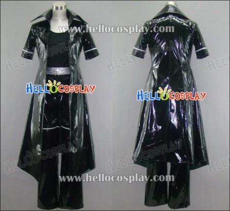 Togainu no Chi Cosplay Shiki Costume Leather