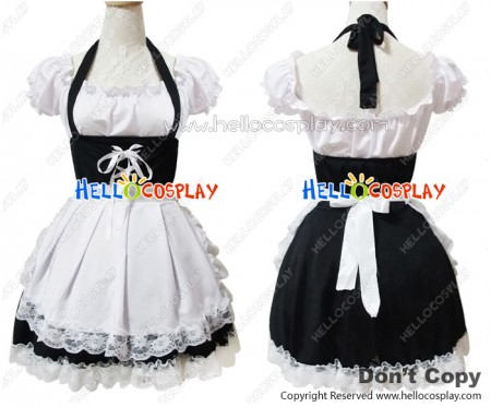 Angel Feather Cosplay DS Sweet Pretty Maid Dress