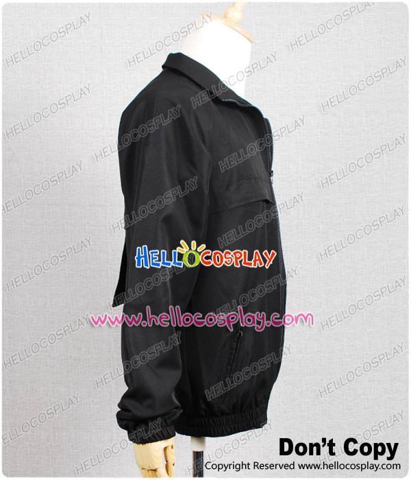 New! NCIS Staff Black Jacket Uniform Costume Cosplay Clothes