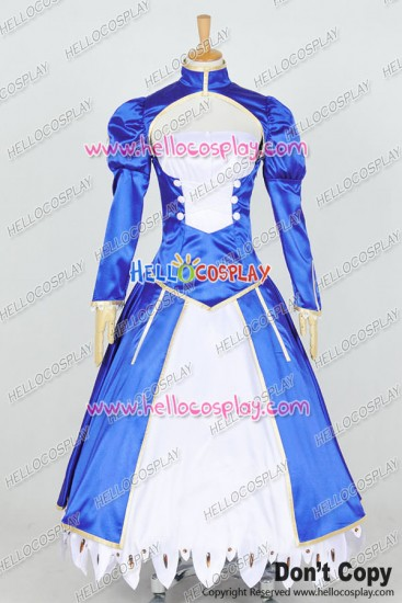 Fate Stay Night Fate Zero Cosplay Saber Costume