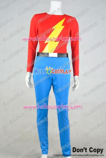 The Flash Jay Garrick Cosplay Costume