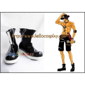 One Piece Cosplay Portgas D. Ace Shoes