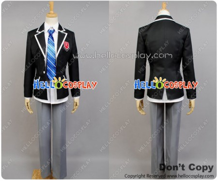 Date A Live Cosplay Shido Itsuka Costume School Boy Uniform