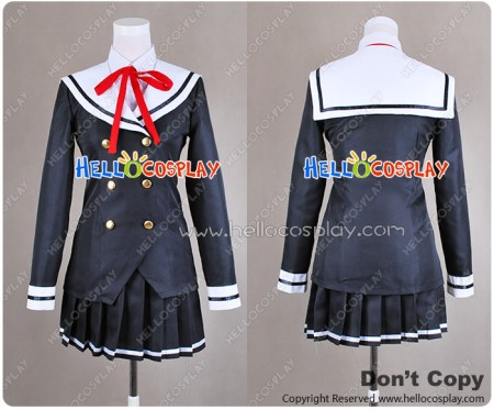 OniAi Akiko Himenokouji Cosplay Costume School Girl Uniform