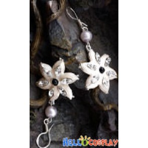 The Lord of The Rings Queen Galadriel Earring Flower Style