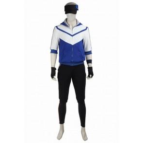Pokemon GO Male Blue Uniform Cosplay Costume