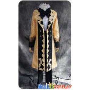 Vocaloid 2 Cosplay Aku No Meshitsukai Len Kagamine Uniform Costume