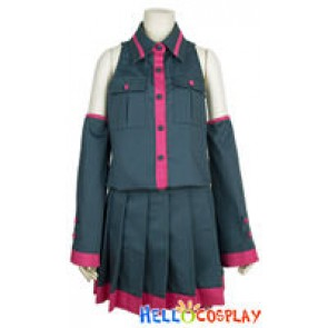 Vocaloid 2 Teto Kasane Cosplay Costume