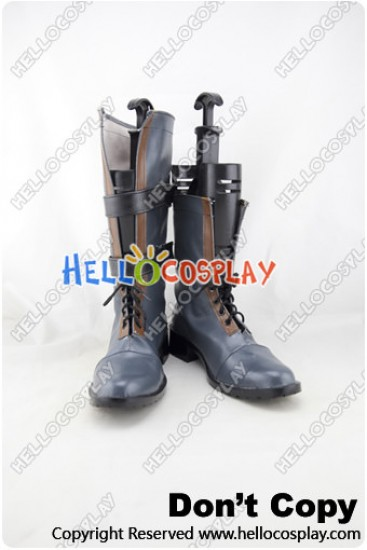 Tales of Vesperia Cosplay Shoes Yuri Lowell Boots New Version
